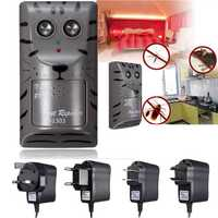 Electronic Ultrasonic Pest Rat Mosquito Mouse Insect Rodent Control Repeller Pests Control