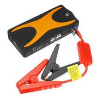 D28A Portable Car Jump Starter 12V 18000mAh Emergency Battery Booster with LED FlashLight Safety Hammer