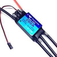 FVT RC Boat Parts 1-6s 200A Brushless ESC SBEC 5V/5A For RC Models
