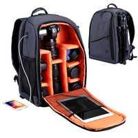PULUZ PU5011 Outdoor Portable Waterproof Scratch-proof Dual Shoulders Backpack Camera Bag