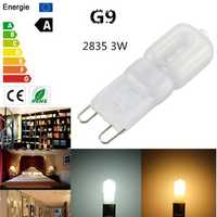 G9 3W 2835 SMD 14LED Lamp Bulb Light Cover Pure/Warm White 220V/110V