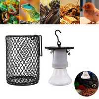 75W Infrared Ceramic Emitter Heat E27 Light Bulb Reptile Pet Brooder With Switch Cover AC110 AC220V
