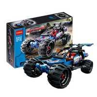 DECOOL 3411 Off-Roader Racer Car 160PCS Building Blocks Toys 3D Model Warrior Sports Car