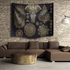 Meilleurs prix Indian Mandala Elephant Beach Towel Tapestry Wall Hanging Throw Dorm Bedspread Mat Decor