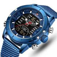 NAVIFORCE 9153 Business Style LED Dual Digital Watch