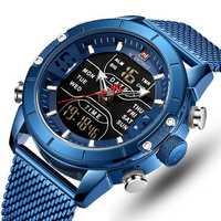 NAVIFORCE 9153 Business Style LED Dual Digital Watch