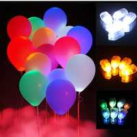 10Pcs LED Balloon Lights Lamps Paper Lanterns Lamp Home Wedding Party Decorative Lights