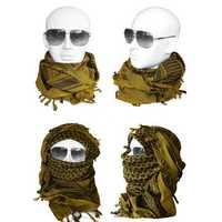 Multifunction Tactical Scarf Full Face Mask Cycling Running Headband Breathable Bandanas Hunting Hat
