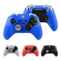 Anti-skid Silicone Protective Cases Cover for XBOX ONE S X 1 Elite Controller Gamepad