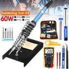 Discount pas cher 60W Electric Adjustable Temperature Solder Iron Multimeter Welding Tool Set