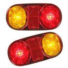 Acheter au meilleur prix LED Rear Tail Lights Turn Signal Lamps Waterproof 12V 2PCS for Boat Trailer UTE Camper Truck