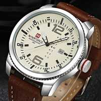 NAVIFORCE 9063 Simple Design Date Display Men Wrist Watch