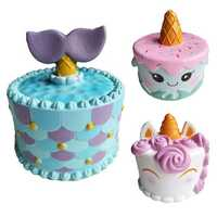 Unicorn Jumbo Squishy Super Soft Slow Rising Cake Kids Adult Stress Relief Toy