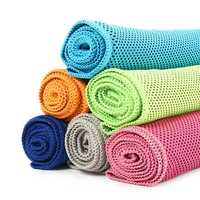 30x100cm Microfiber Super Absorbent Summer Cold Towel Sports Beach Hiking Travel Cooling Washcloth
