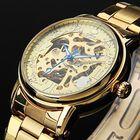Acheter JIJIA Luxury Men Watch Hollow Roman Number Mechanical Watch