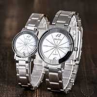 Deffrun Casual Style Full Steel Men Women Quartz Watch