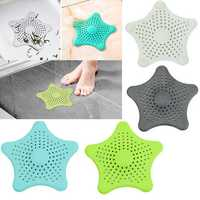 Honana BC-505 Silicone Suckers Drain Protector Kitchen Bathroom Sink Accessories For Bathroom Sucker Sink Filter Sewer Hair Colanders Strainers Filter