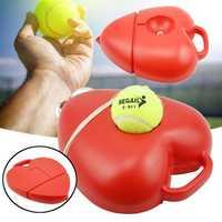 Singles Tennis Balls Sports Trainer Self-Study Practice Training Rebound Balls Baseboard Tool