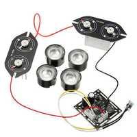 Spot Lightt Infrared 4x IR LED Board For CCTV Cameras Night Vision