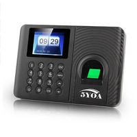 A10 Biometric Fingerprint Time Attendance Clock Recorder Employee Recognition Device Electronic English Spanish Russian Machine