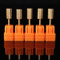 Electric Nail Art Drill Machine Bits Tungsten Steel Files Cuticle Clean Polishing Manicure Tools