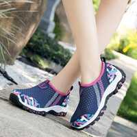 Casual Mesh Breathable Walking Sneakers
