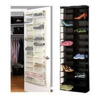 26 Interlayers Door Hanging Shelf Display Stand Holder Shoe Storage Organizer Bag