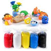 1000G/Bag Super Light Clay Polymer Clay DIY Project Handicraft Slime Soft Plasticine Learning Education Toy