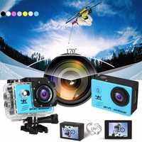 Waterproof SJ8000 Ultra 4K HD 1080P WiFi 2.0Inch LCD Sports Action Mini DV Camera