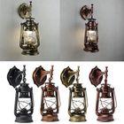 Promotion Retro Antique Vintage Exterior Lantern Wall Lamp Bar Cafe Sconce Lighting Fixture