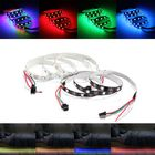 Meilleurs prix 1M Non-Waterproof WS2812 WS2812B RGB 30 LED Strip Light Individually Addressable 5V