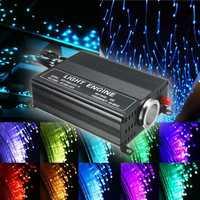 2M DIY 16W RGB 150 PCS LED Fiber Optic Star Ceiling Lights Kit 0.75MM+ 24 IR Remote