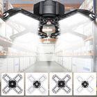 Good price E26 E27 80W 100W E27 LED Bulb Four-Leaves Shop Garage Light Deformable Panels Ceiling High Bay Lamp AC85-265V