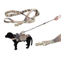 Tactical Multi-Function Versatile Longer Training Dog Bungee Leash Hunting Military Nylon Rope
