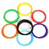 8 Colours Pack x 10m 1.75mm ABS Filament For 3D Pen