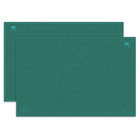 Les plus populaires Ou Ge 883A1 Three-layer Black Core A1 Cutting Mat Non-standard Size In Green For Office Stationary Supplies