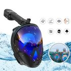 Acheter au meilleur prix Underwater Diving Mask Full Face Snorkel Swimming Goggles Diving Equipement For Adult Kids