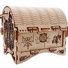 Recommandé Puzzle Education Retro Treasure Box Creative Ornaments 40Pcs Assembly Relaxing Handmade Treasure Chest Home Decorations