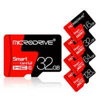 Microdrive 8GB 16GB 32GB 64GB 128GB C10 Class 10 High Speed TF Memory Card With Card Adapter For Mobile Phone iPhone Samsung Huawei Xiaomi