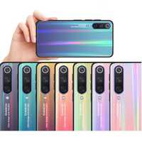 Bakeey Aurora Gradient Anti-scratch Tempered Glass Protective Case For Xiaomi Mi 9 / Mi 9 Transparent Edition