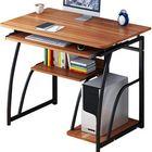 Meilleurs prix Computer Desk Laptop Desk simple Study desktop table home desk Simple Writing Desk Study Table Host Care 71cm Height For Bedroom Office Study With Shelves