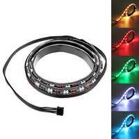 Coolmoon 50cm Magnetic RGB LED Strip Light with 30pcs LED for Desktop PC Computer Case