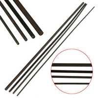 Grade 12.9 Carbon Steel Black Threaded Metal Rod M2/M2.5/M3/M4 Length 250MM