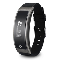 I8 Heart Rate Blood Pressure monitor Dynamic Smart Bracelet OLED Touch Screen Sport Wristband