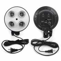 4 Socket E27 Video Shooting Light Lamp Bulb Head Holder