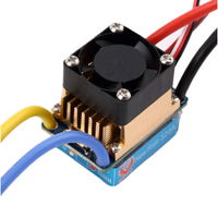 Waterproof Brushed ESC 320A 3S with Fan 5V 3A BEC T-Plug For 1/10 RC Car