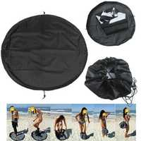 IPRee® Nylon 90cm Surfing Wetsuit Diving Suit Change Bag Mat Waterproof Bag Carry Pack Pouch