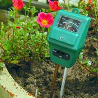 KCASA KC-SMT100 Pro 3 in 1 PH Sunlight Hydroponics Analyzer Smart Wood Soil Moisture Meter Sensor Test Tools Kit