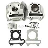 50cc 60cc 80cc GY6 QMB139 Cylinder Head Piston Rings Engine Set For Scooter