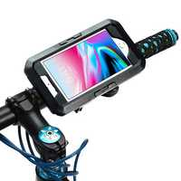 IPX8 Waterproof Bike/Bicycle Handlebar Holder Protective Case For iPhone 7 Plus/iPhone 8 Plus